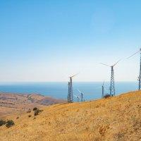 Ветряные электростанции на Меганоме :: Вероника Куницына