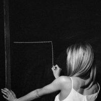 актриса Ксения Клепикова как Бланш Дюбуа («Трамвай по имени...») :: Andrew Barkhatov