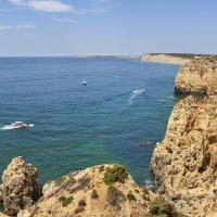 Панорама окрестностей Praia do Barranco do Martinho. Португалия. Лагуш :: Минихан Сафин