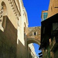 Путь на Голгофу. Иерусалим. :: Зуев Геннадий