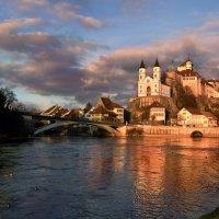 Аарбург - город и крепость на реке Ааре :: Elena Wymann