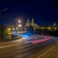 Ночью у Новоиерусалимского монастыря :: Вероника Куницына