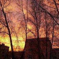 Десять минут пламенеющего восхода :: Ирина Румянцева