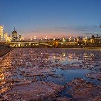 Лёд на Москве реке :: Виктор К