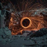 Зимний пейзаж со спецэффектами :: Алишер Бабиков