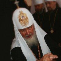 Патриарх в Соловецком монастыре :: Зуев Геннадий