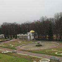 Панорама Нижнего парка от Большого Петергофского дворца :: Маера Урусова