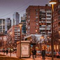 Московские улицы. Брянская :: Irene Irene