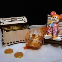 На счастье, богатство мышка установку дает :: Наталья (D.Nat@lia)