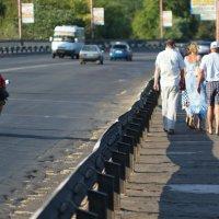По Ингульскому мосту... :: Сергей Порфирьев
