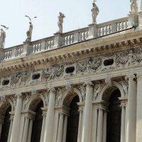Фрагмент здания библиотеки св. Марка :: Елена Павлова (Смолова)