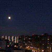 луна над спящим городом :: Вероника Камилова
