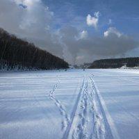 Дорога по тонкому льду. :: Александр Сергеевич Антонов