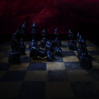 Из жизни шахмат. После боя.Прощание. :: Removich ARStudio
