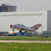 Взлетающий МиГ - 15 :: Андрей Снегерёв