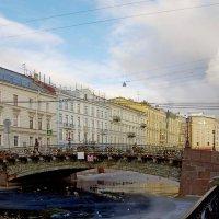Большой Конюшенный мост... :: Юрий Куликов