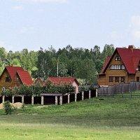 В дачном посёлке :: Nikolay Monahov