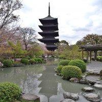 Пагода Xрама Tō-ji. Киото Япония :: Swetlana V