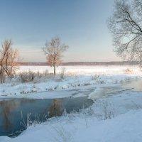 Февраль на реке Клязьме :: Валерий Иванович