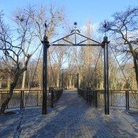 Новый мостик в Южном парке :: Маргарита Батырева