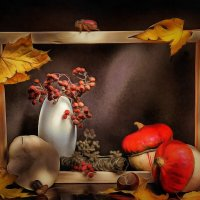 Осенняя картинка :: Irene Irene