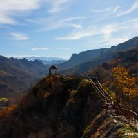 пейзаж с горы Шоана :: Александр Богатырёв