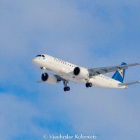 Embraer E190-E2 AirAstana :: Вячеслав Коломиец