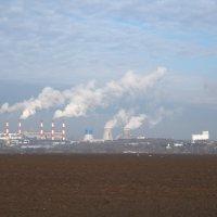 Социалистический пейзаж: индустриализация + коллективизация. :: Алекс Ант