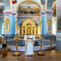Интерьер храма....(Монастырь в честь Успения Пресвятой Богородицы в г. Старице ) :: александр варламов