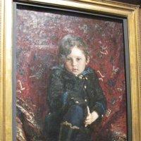 Портрет Юрия Репина в детстве. 1882 г. :: Маера Урусова