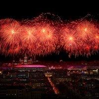 Салют ко дню защитника Отечества 23.02.20 :: Валерий Шейкин