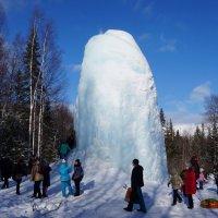 Ледяной фонтан. Национальный парк Зюраткуль. :: Зинаида Каширина