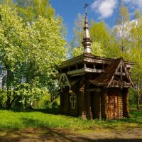 Часовня в городе Вытегра :: Сергей Моченов