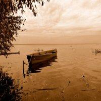 Осенний вечер на озере :: Марина