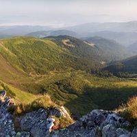 Рассвет на склоне Говерлы :: Алексей Медведев