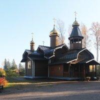 Церковь Бориса и Глеба в Агалатово :: Зуев Геннадий