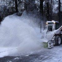 Снег зимой таки был :: Алексей Виноградов