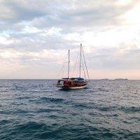 Уходят в море корабли :: Galina Solovova