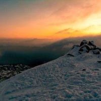 Закат в горах... :: Владимир Деньгуб