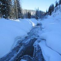 Река замерзать не хотела... :: Galaelina ***