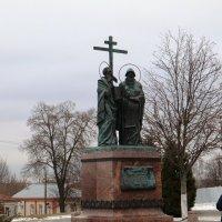 Памятник Кириллу и Мефодию :: Валерий