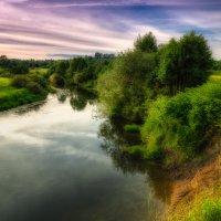 Летний вечер на реке :: Владимир Шамота