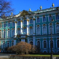 Эрмитаж вид из сада Зимнего дворца. :: веселов михаил