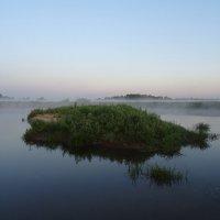 Рассвет на реке Клязьма :: Денис Бочкарёв