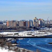 Вид на Братеевский каскадный парк :: Анатолий Колосов