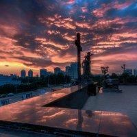 Пылающий закат :: Vladimbormotov