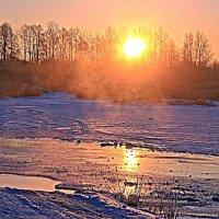 Утреннее дыхание. :: Николай Масляев