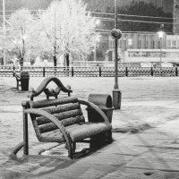 Ночь и снегопад :: alteragen Абанин Г.
