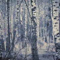 Birch abstract. :: Андрий Майковский