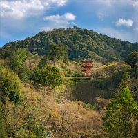 Пагода храмового комплекса Киёмидзу-дэра в Киото. :: Shapiro Svetlana